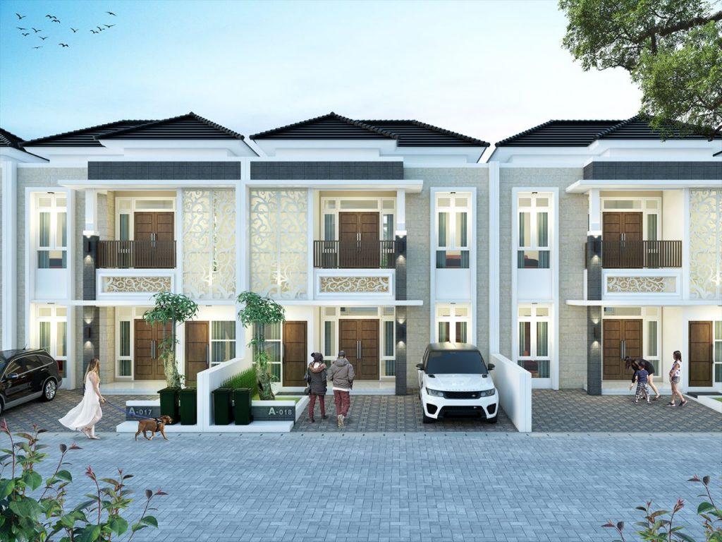 Graha Permata Group Desain rumah 2 lantai tipe 8x14