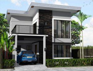 Graha Permata Group Desain rumah 2 lantai tipe 6x9